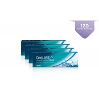 4 DAILIES AQUA COMFORT PLUS 30 pack