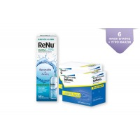 2 SOFLENS MULTIFOCAL 3PK + RENU MULTIPLUS CARE 360ml + 60ml