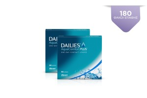 2 DAILIES AQUA COMFORT PLUS 90 pack
