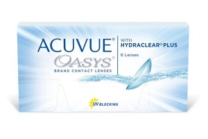 Acuvue Oasys ( 6 φακοί ) Δεκαπεθήμεροι Μυωπίας