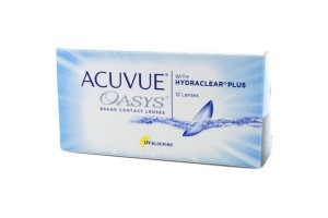 Acuvue Oasys ( 12 φακοί ) Δεκαπενθήμεροι Μυωπίας