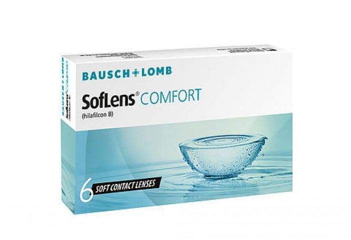 Soflens Comfort ( 6 φακοί ) Μηνιαίοι Μυωπίας
