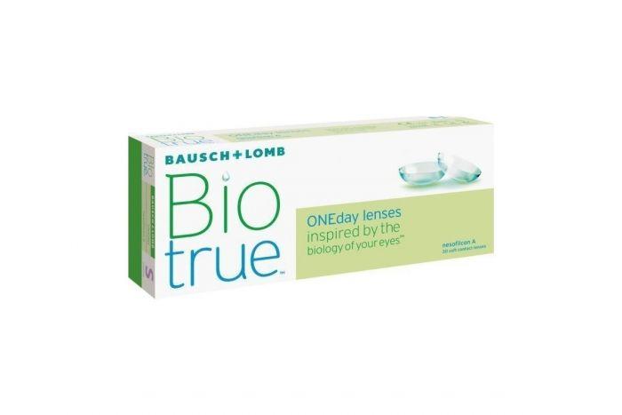 Biotrue ONEDay ( 30 φακοί + 10 φακοί ΔΩΡΟ ) Ημερήσιοι Μυωπίας