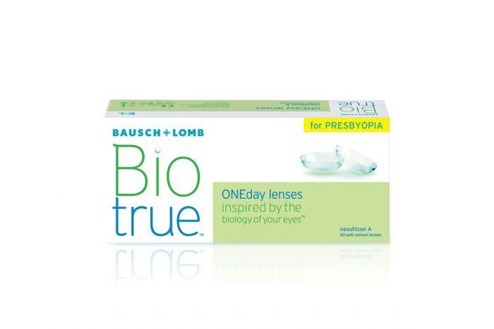 Biotrue ONEDay for Presbyopia ( 30 φακοί + 10 φακοί ΔΩΡΟ ) Ημερήσιοι Πολυεστιακοί