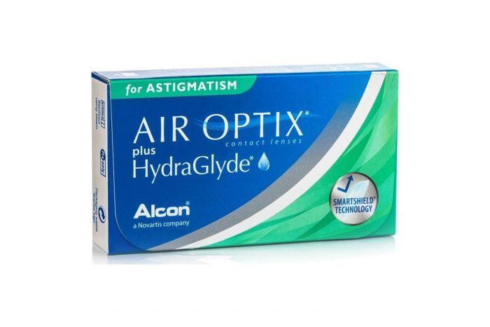 Air Optix Plus HydraGlyde for Astigmatism ( 6 φακοί ) Μηνιαίοι Αστιγματικοί