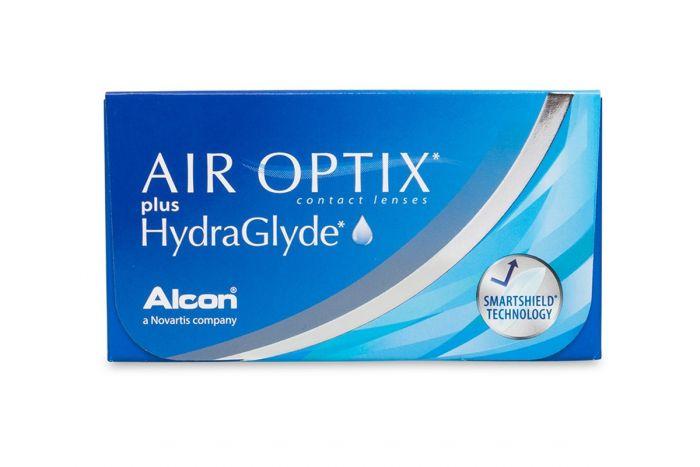 Air Optix Plus Hydraglyde ( 6 φακοί ) Μηνιαίοι Μυωπικοί