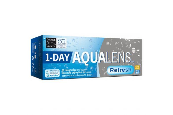 Aqualens Refresh 1-Day ( 30 φακοί + 10 φακοί ΔΩΡΟ ) Ημερήσιοι Μυωπίας