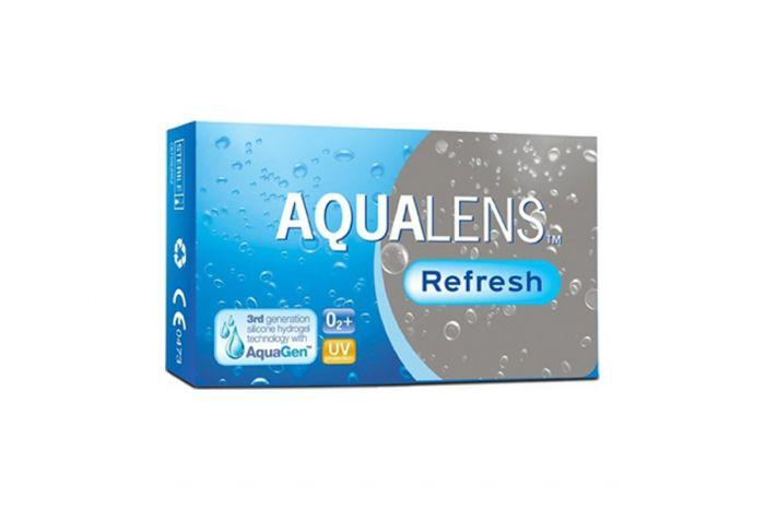Aqualens Refresh ( 3 φακοί ) Μηνιαίοι Μυωπίας