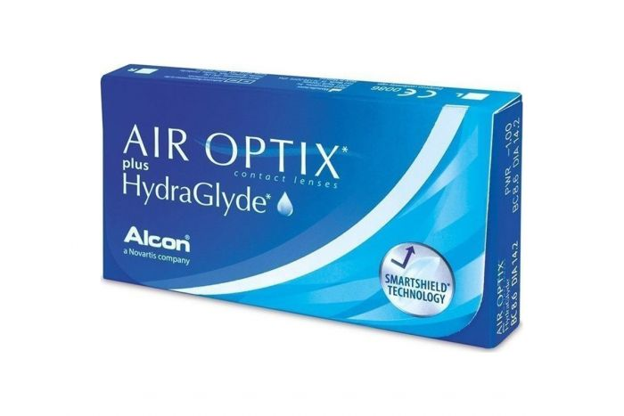 Air Optix Plus Hydraglyde ( 3 φακοί ) Μηνιαίοι Μυωπίας