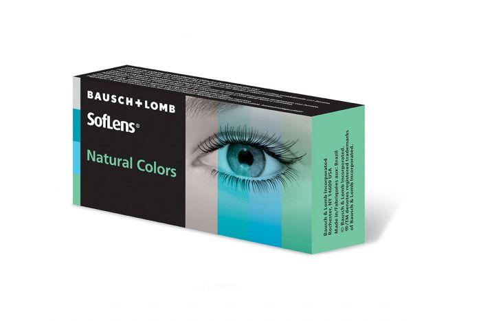 Soflens Natural Colors ( 2 φακοί ) Έγχρωμοι Μηνιαίοι
