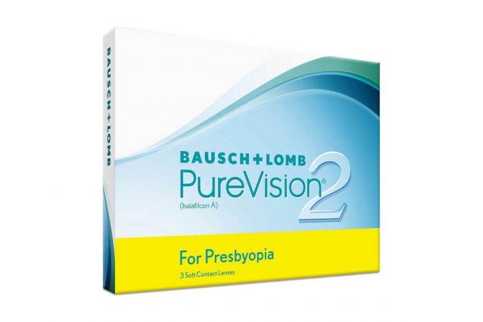 Pure Vision 2 for Presbyopia ( 3 φακοί ) Μηνιαίοι Πολυεστιακοί